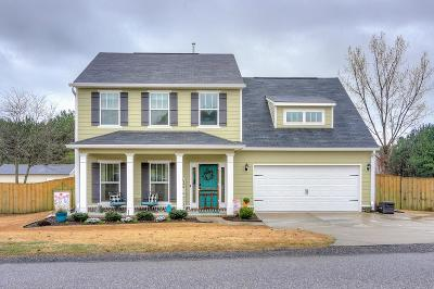 Edgefield County Single Family Home For Sale: 309 Foxchase Circle
