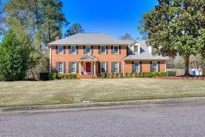 Evans Single Family Home For Sale: 609 Branett Way