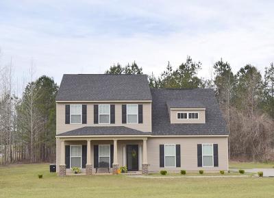Hephzibah Single Family Home For Sale: 101 Ridgeview Drive