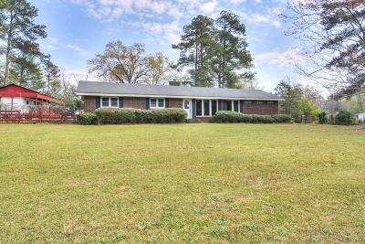 Martinez Single Family Home For Sale: 404 Old Evans Road