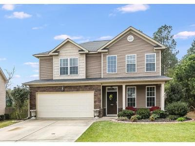 Grovetown Single Family Home For Sale: 1193 Stone Meadows Court