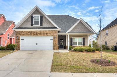 Grovetown Single Family Home For Sale: 831 Herrington Drive