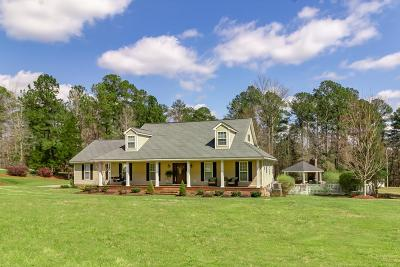 McDuffie County Single Family Home For Sale: 1468 Cedar Creek Drive