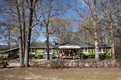 Appling Single Family Home For Sale: 3372 Tom Bartles Road