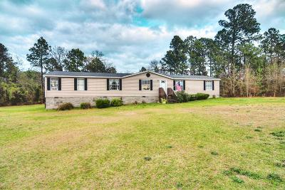 Dearing Single Family Home For Sale: 2961 Ellington Airline Road