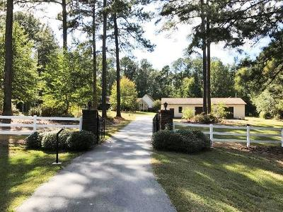 Appling Single Family Home For Sale: 6564 Washington Road