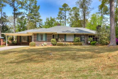 Augusta Single Family Home For Sale: 2251 Overton Road