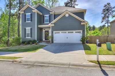 Grovetown Single Family Home For Sale: 748 Mural Lake Court