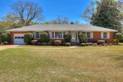 Aiken Single Family Home For Sale: 940 Magnolia Street