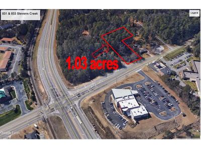 Augusta Commercial For Sale: 831 833 Stephens Creek