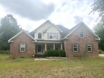 Augusta Single Family Home For Sale: 5044 Westbrook Road