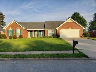 Hephzibah Single Family Home For Sale: 3758 Bansbury Place