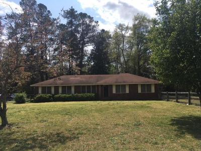 Aiken Single Family Home For Sale: 8197 Gregory Road