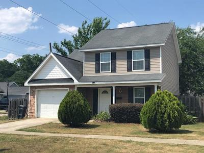 Augusta Single Family Home For Sale: 729 Hall Street