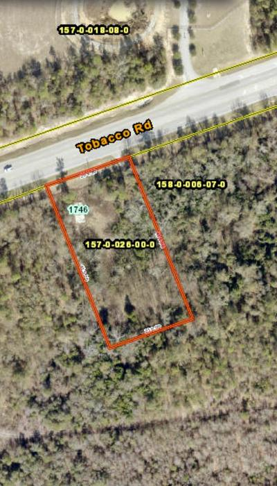 Augusta Commercial For Sale: 1746 Tobacco Road