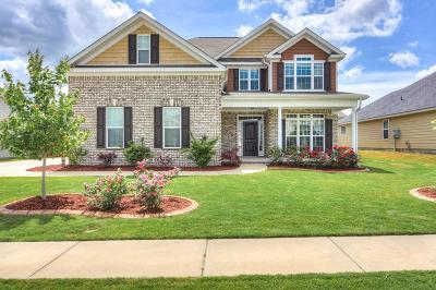 Augusta Single Family Home For Sale: 5086 Copse Drive