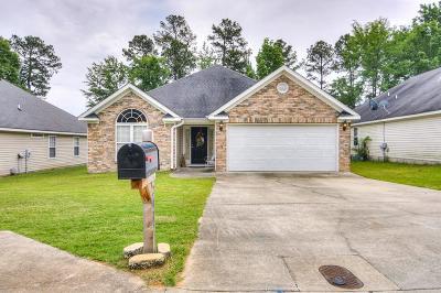 Grovetown Single Family Home For Sale: 2082 Sylvan Lake Drive