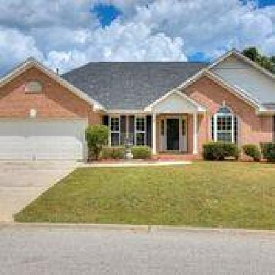 Augusta GA Single Family Home For Sale: $198,000