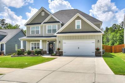 Grovetown Single Family Home For Sale: 1572 Driftwood
