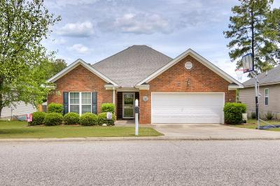 Grovetown Single Family Home For Sale: 2117 Sylvan Lake Drive