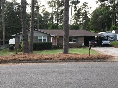 North Augusta Single Family Home For Sale: 906 Fairwood Avenue