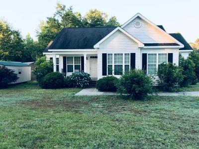 Dearing GA Single Family Home For Sale: $139,900