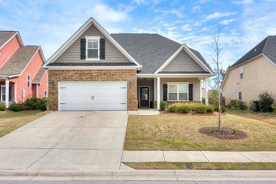 Grovetown Single Family Home For Sale: 831 Herrington Drive