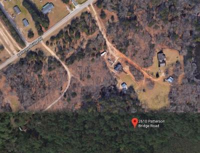 Residential Lots & Land For Sale: 2610 Patterson Bridge Road