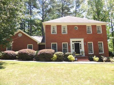 Evans Single Family Home For Sale: 801 Deercrest Lane