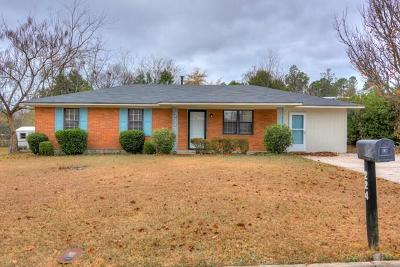 Augusta Single Family Home For Sale: 224 Shawnee Drive