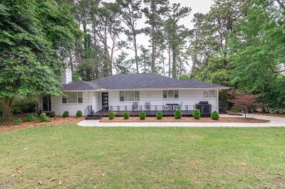Augusta Single Family Home For Sale: 3033 Lake Forest Drive