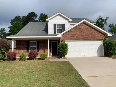 Grovetown Single Family Home For Sale: 5044 Reynolds Way