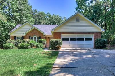 Grovetown Single Family Home For Sale: 415 Sugarcreek Drive