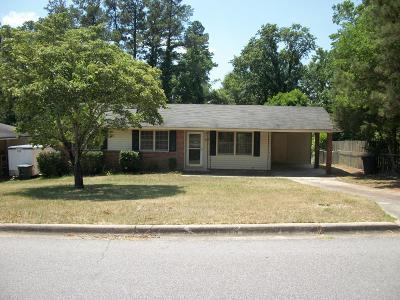 North Augusta Single Family Home For Sale: 2228 Vireo Drive
