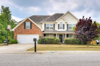 Grovetown Single Family Home For Sale: 6040 Reynolds Circle