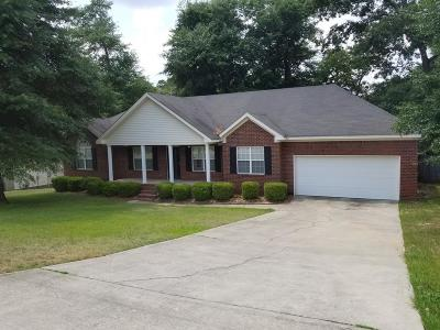 Hephzibah Single Family Home For Sale: 1029 Woodberry Drive