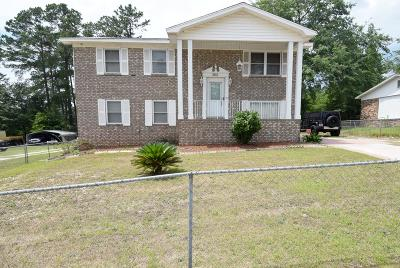 Augusta Single Family Home For Sale: 3615 Cameron Drive