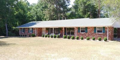 Appling Single Family Home For Sale: 7340 White Oak Campground Road