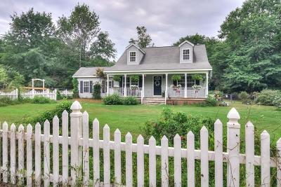 Aiken Single Family Home For Sale: 1281 Hatchaway Bridge Road