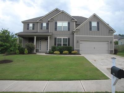 Grovetown Single Family Home For Sale: 214 Seaton Avenue