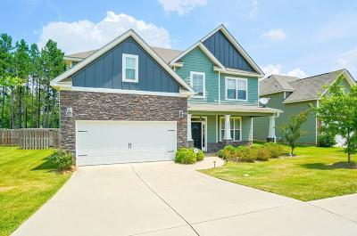 Grovetown Single Family Home For Sale: 2605 Kirby Avenue