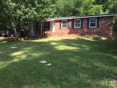 Augusta Single Family Home For Sale: 1404 Habersham Drive