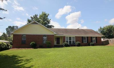 Evans Single Family Home For Sale: 4586 Hebbard Way