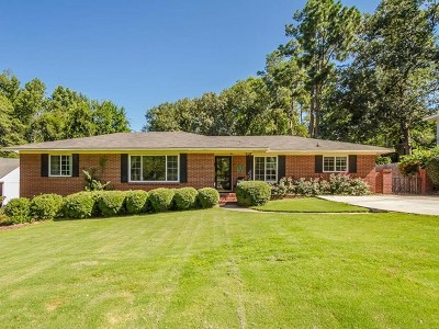 North Augusta Single Family Home For Sale: 920 Fairwood Avenue