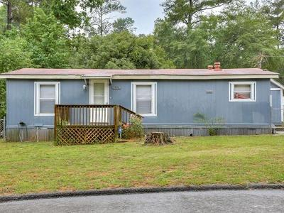 Richmond County Manufactured Home For Sale: 1542 Atlantic Drive