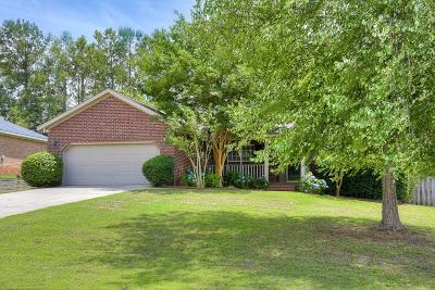 Grovetown Single Family Home For Sale: 4527 Country Glenn Circle