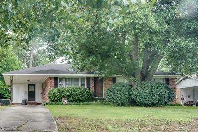 North Augusta Single Family Home For Sale: 132 Palmetto Avenue