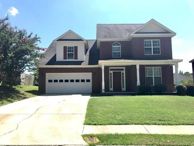 Evans Single Family Home For Sale: 428 Keeling Lane