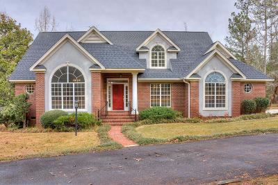 McDuffie County Single Family Home For Sale: 315 Huntington Road NE