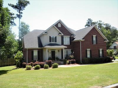 North Augusta Single Family Home For Sale: 125 Adams Branch Road